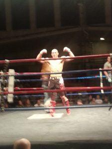 Tiger Schulmann's Martial Arts   Man Flexing