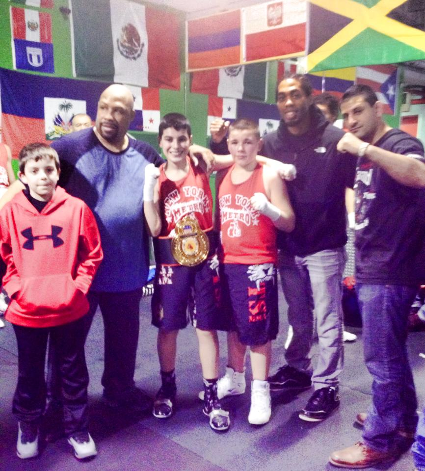 Tiger Schulmann's Martial Arts | Boy Wearing Championship Belt