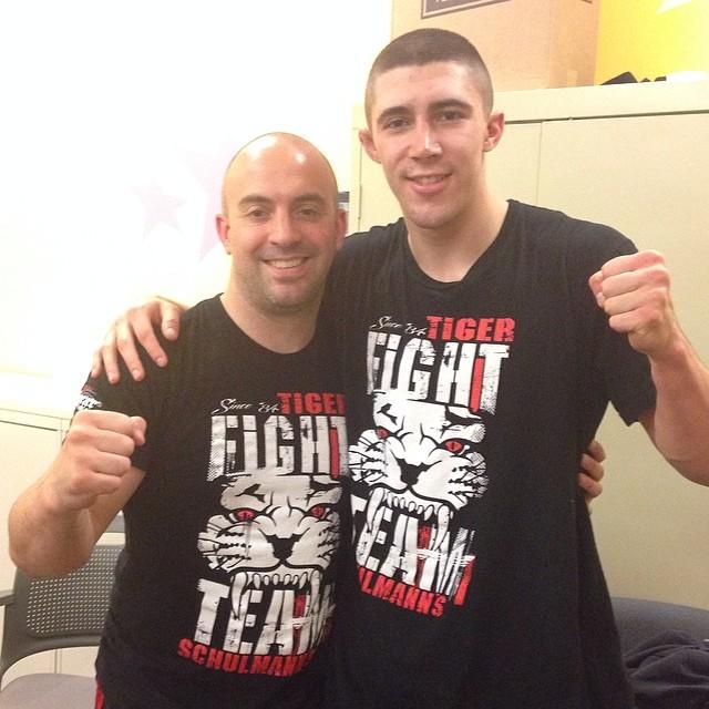 Tiger Schulmann's Martial Arts | Men Wearing TSMA Shirt
