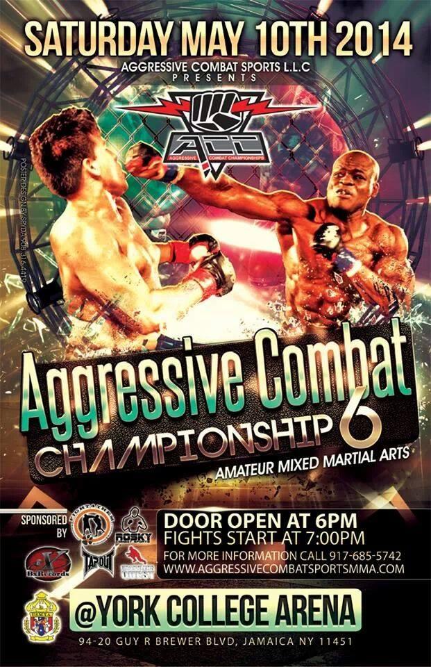 Tiger Schulmann's Martial Arts | Agressive Combat Championship 6 Banner