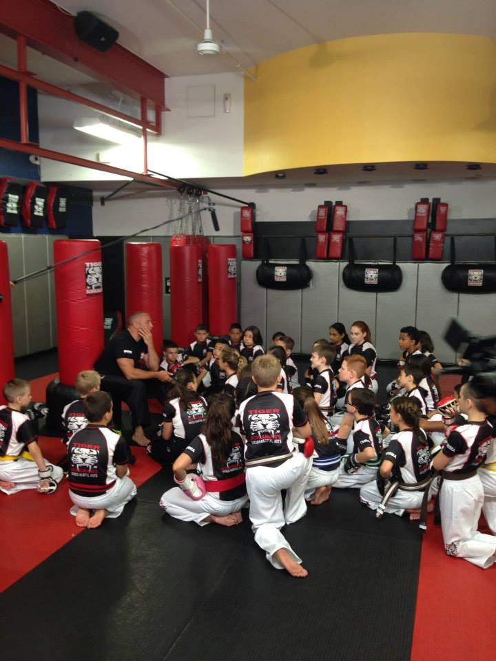Tiger Schulmann's Martial Arts | Kids Listening