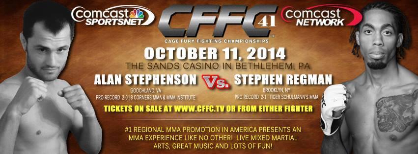 Tiger Schulmann's Martial Arts | Alan Stephenson vs. Stephen Regman Banner
