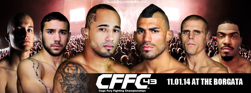 Tiger Schulmann's Martial Arts | Cage Fury Fighting Championships Banner