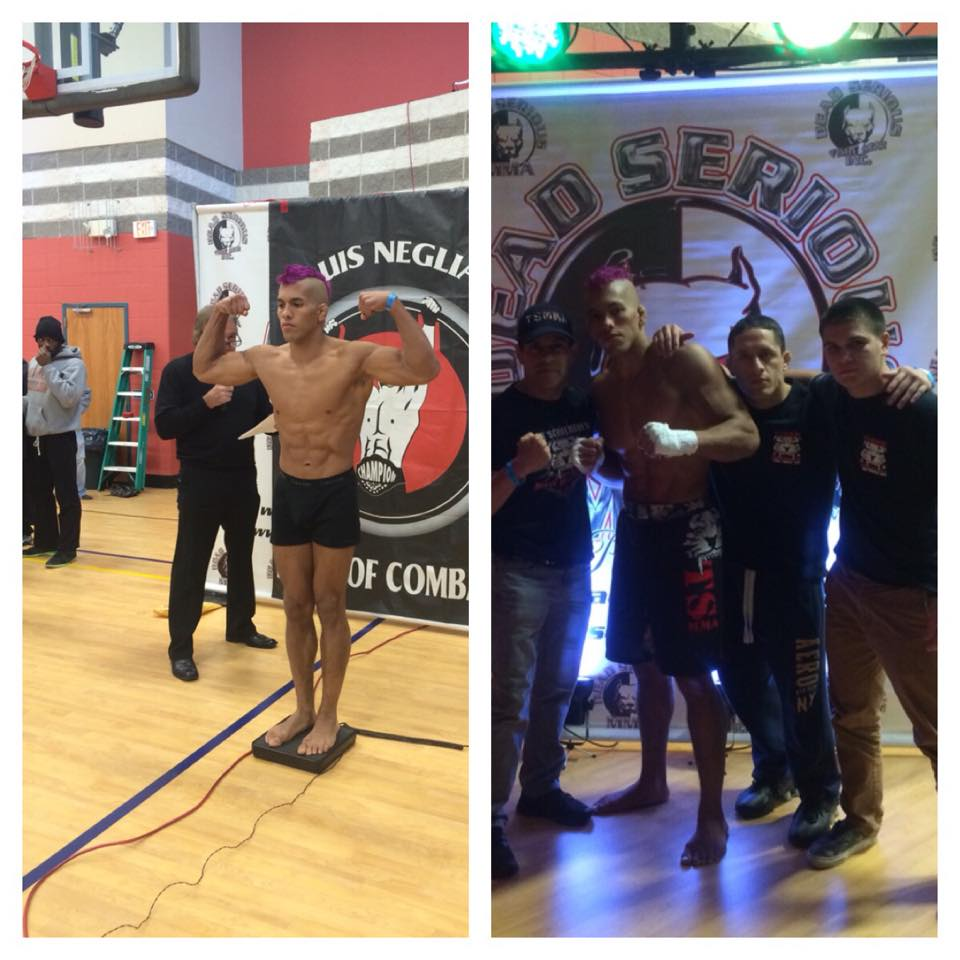 Tiger Schulmann's Martial Arts   Man Weighing in Collage