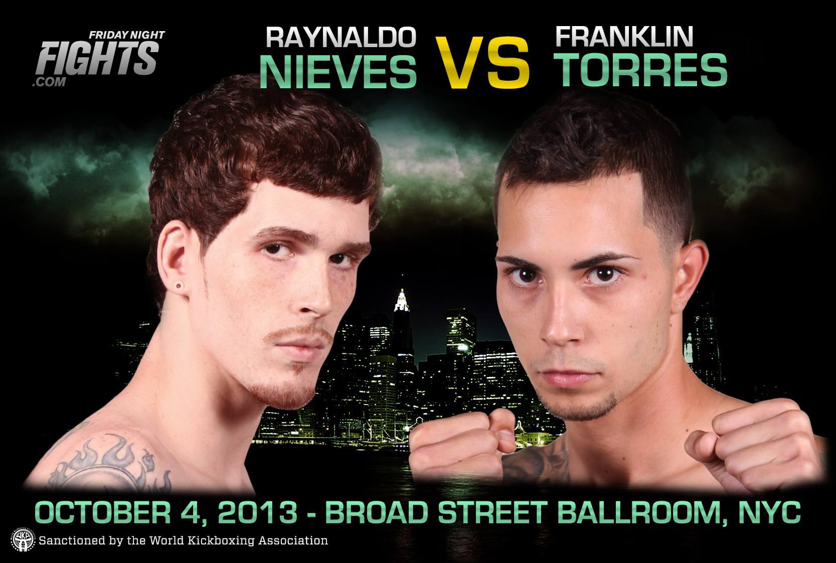 Tiger Schulmann's Martial Arts   Raynaldo Nieves vs. Franklin Torres