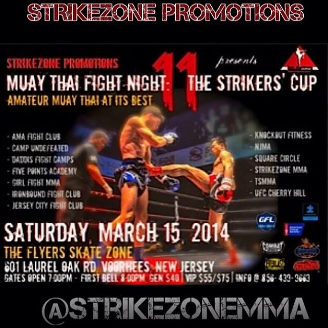Tiger Schulmann's Martial Arts | Muay Thai Fight Night Banner