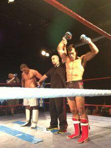Tiger Schulmann's Martial Arts   Winner Hand Raised