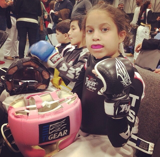 Tiger Schulmann's Martial Arts | Girl with Black Gloves