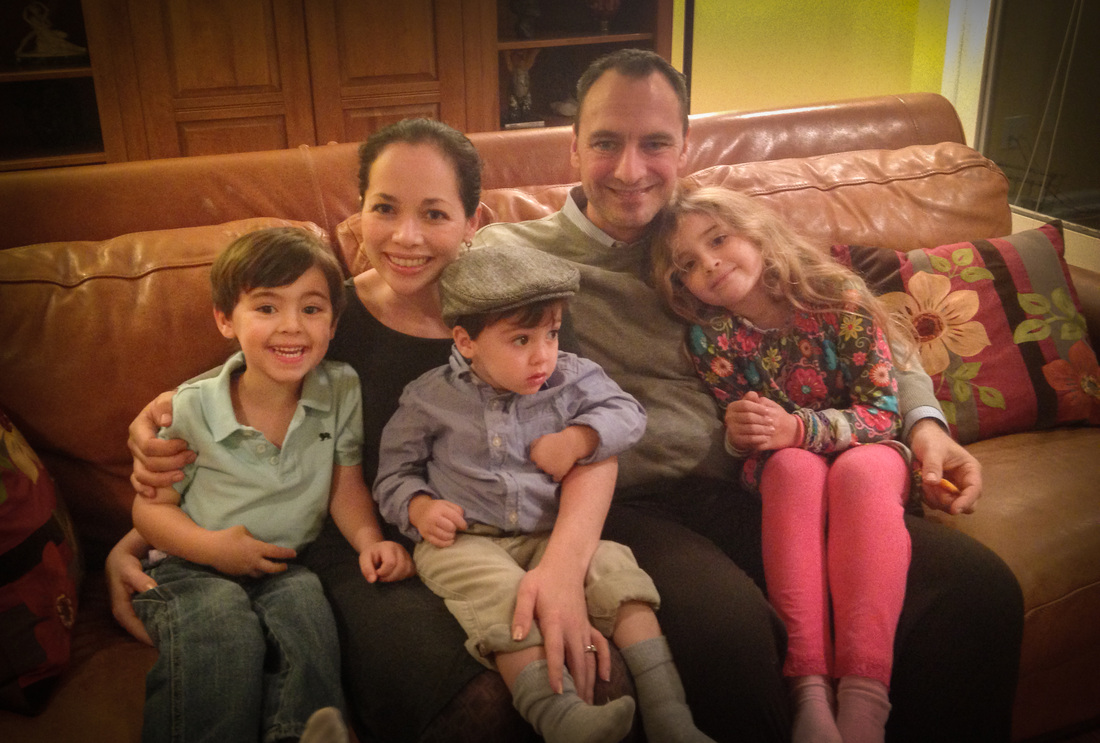 Tiger Schulmann's Martial Arts | Family Photo on Couch