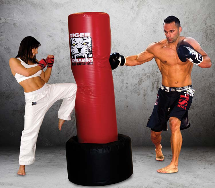 Tiger Schulmann's Martial Arts | Woman Kicking and Man Punching