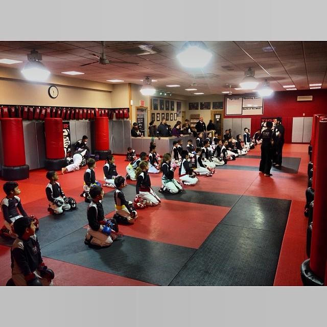 Tiger Schulmann's Martial Arts | Kids Kneeling