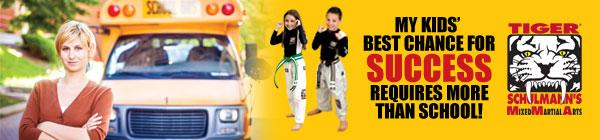 Tiger Schulmann's Martial Arts | TSMA Banner