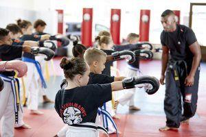 Tiger Schulmann's Martial Arts   Children Punching