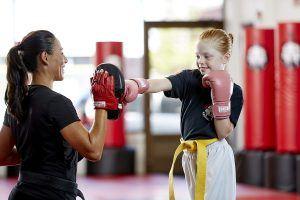 Tiger Schulmann's Martial Arts | Girl Punching