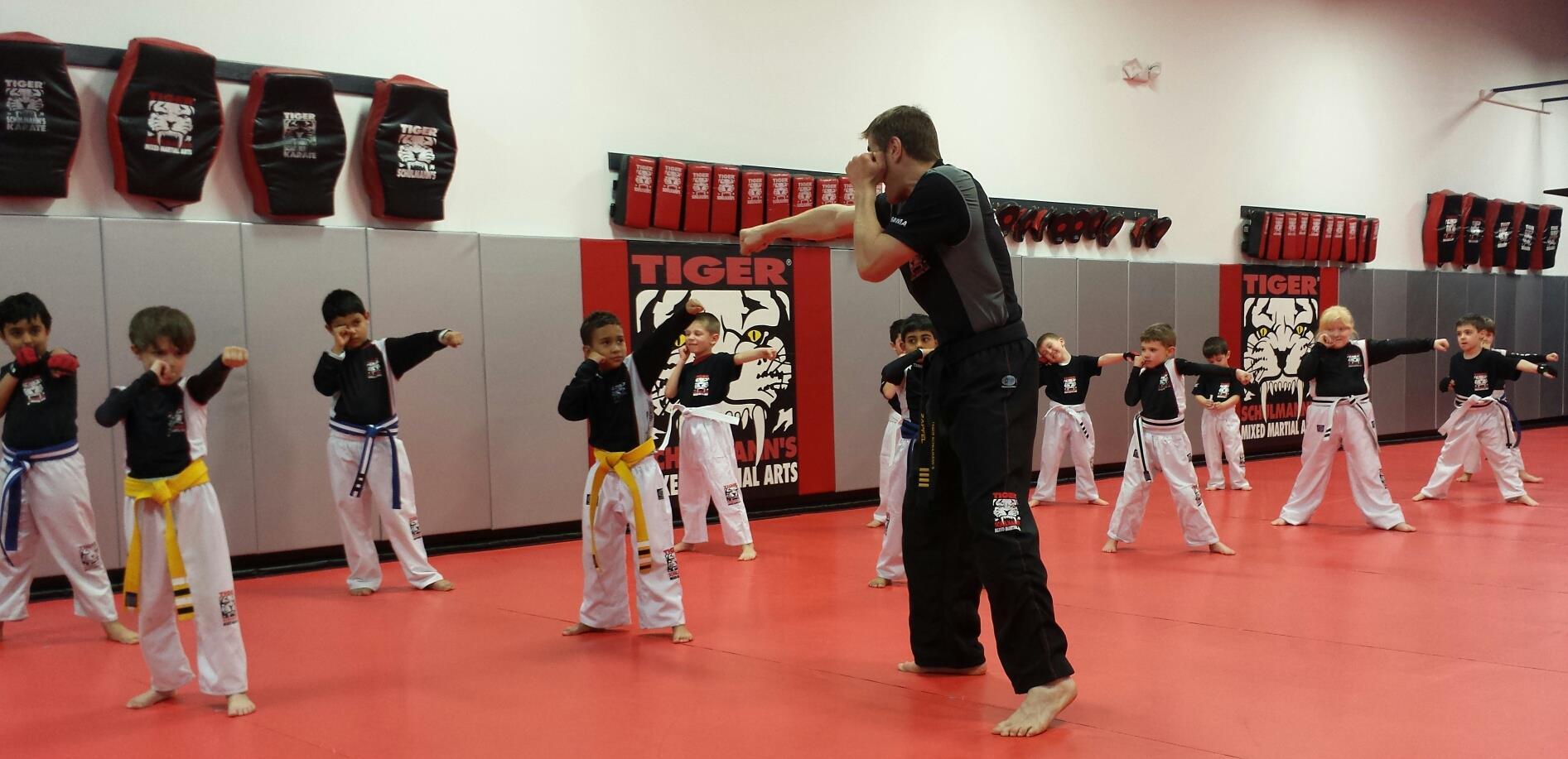 Tiger Schulmann's Martial Arts | Children Jabbing