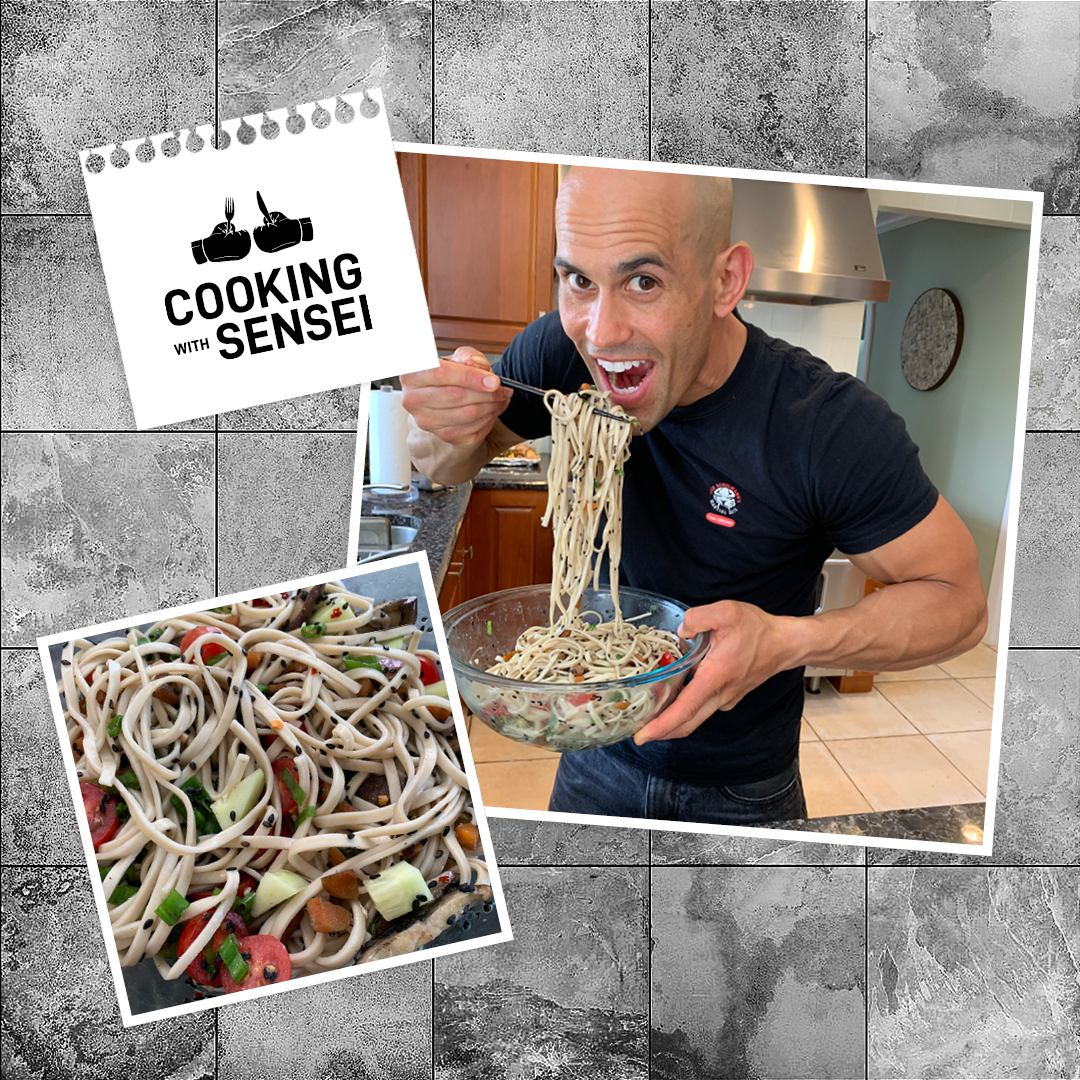 Tiger Schulmann's Martial Arts | Cooking with Sensei Cover