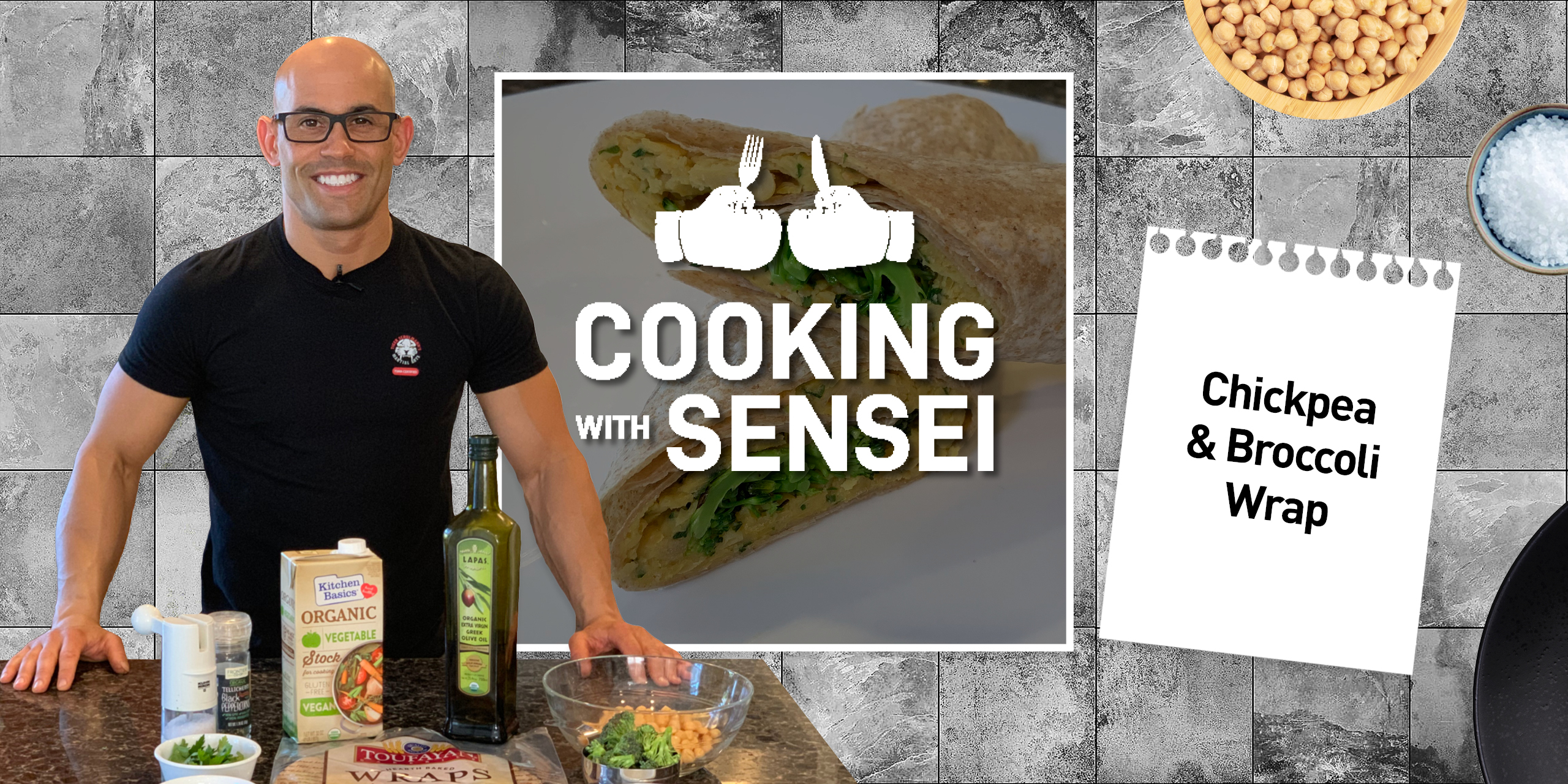 Tiger Schulmann's Martial Arts | Cooking with Sensei Banner
