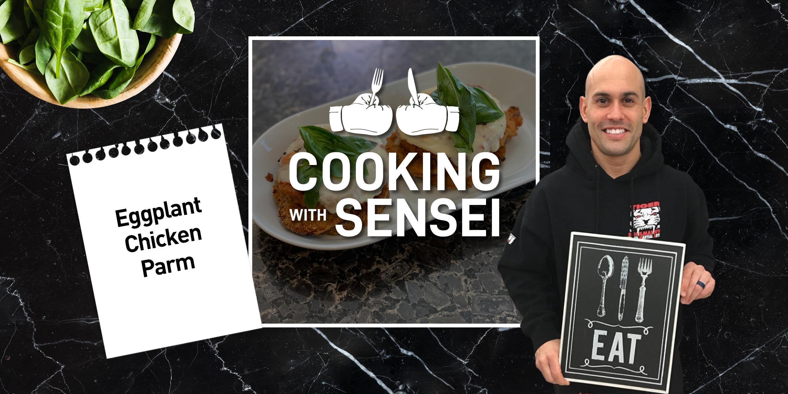 Tiger Schulmann's Martial Arts | Cooking with Sensei Banner