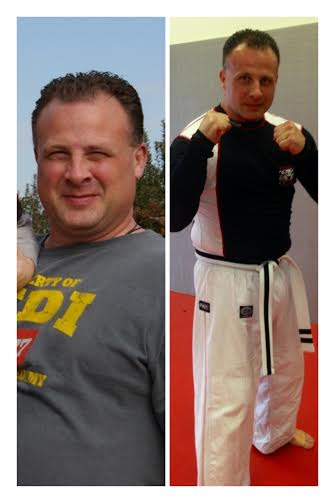 Tiger Schulmann's Martial Arts | Man Weight Loss Before and After