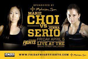 Tiger Schulmann's Martial Arts | Marie Choi vs Jenna Serio