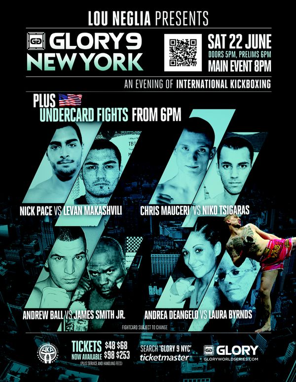 Tiger Schulmann's Martial Arts | Glory 9 Poster