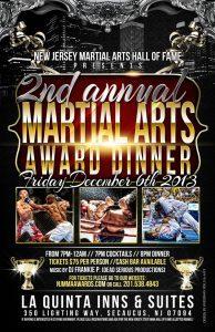 Tiger Schulmann's Martial Arts | 2nd Annual Martial Arts Award Dinner Banner