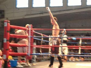 Tiger Schulmann's Martial Arts | Man Raising Left Hand