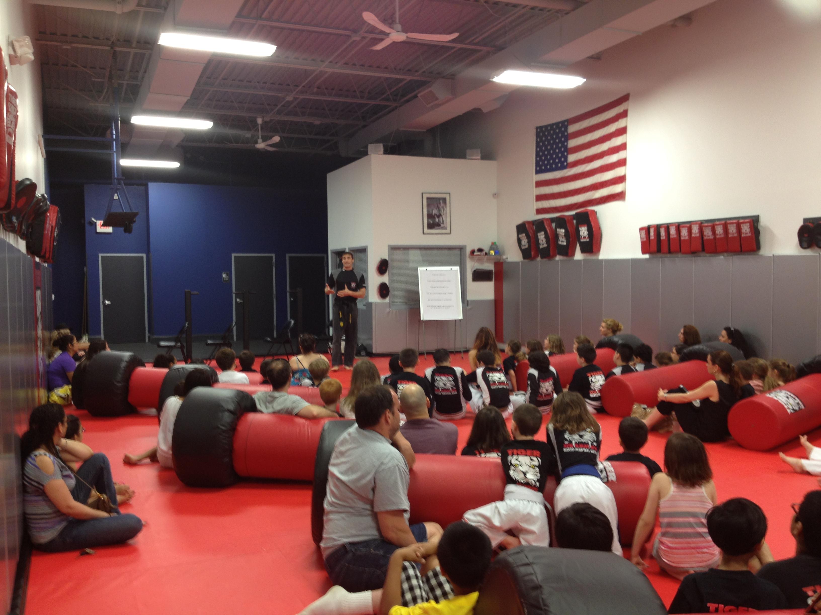 Tiger Schulmann's Martial Arts | Team Meeting