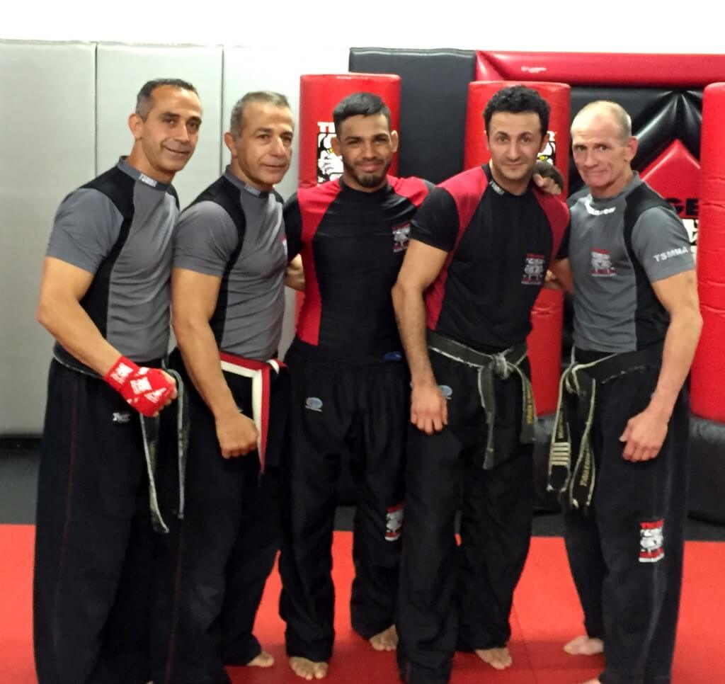 Tiger Schulmann's Martial Arts | Men Group Photo