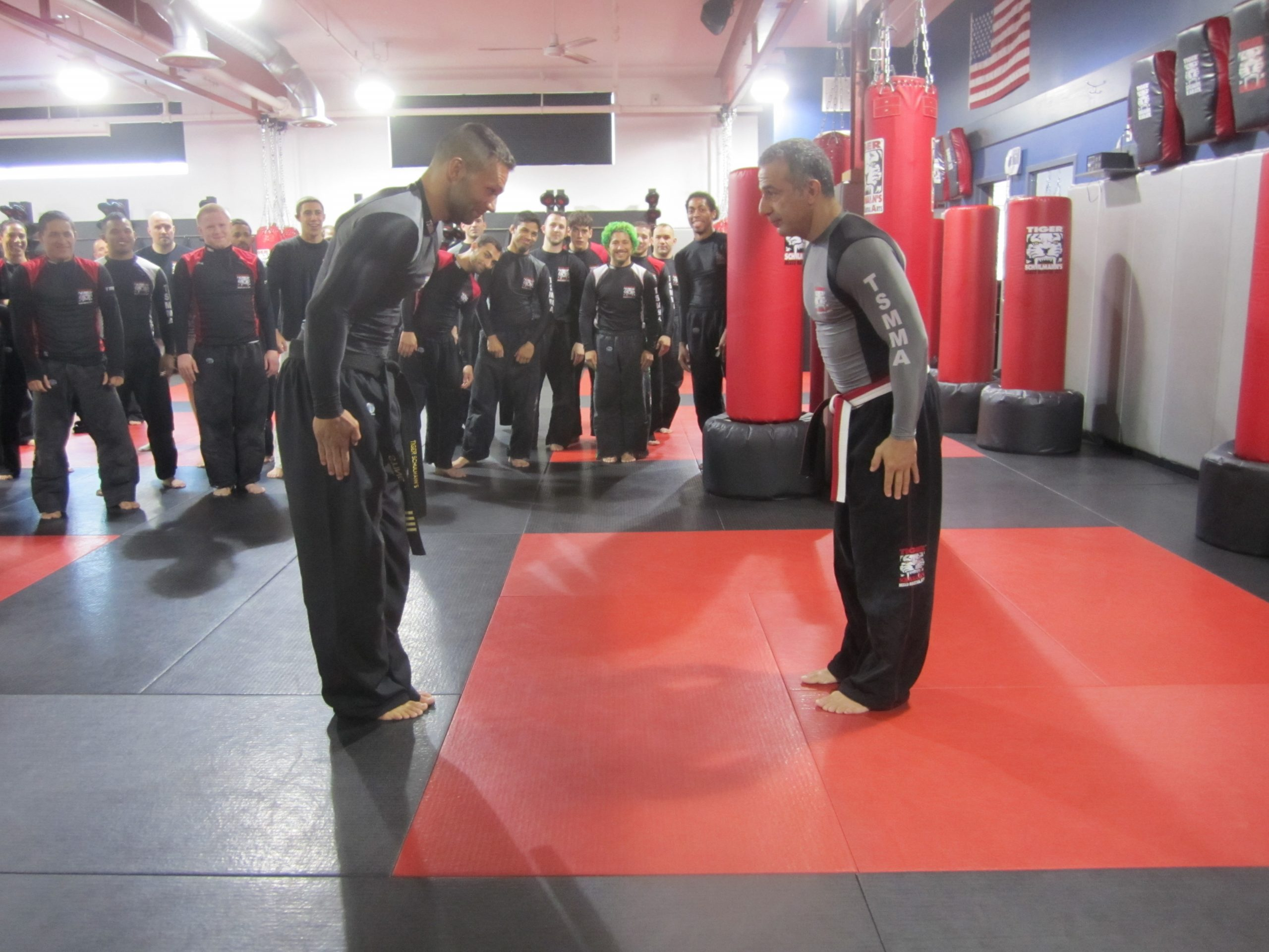 Tiger Schulmann's Martial Arts | Men Bowing