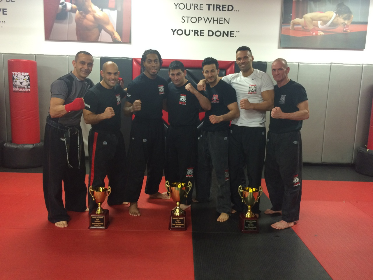Tiger Schulmann's Martial Arts | Trophy Group Photo