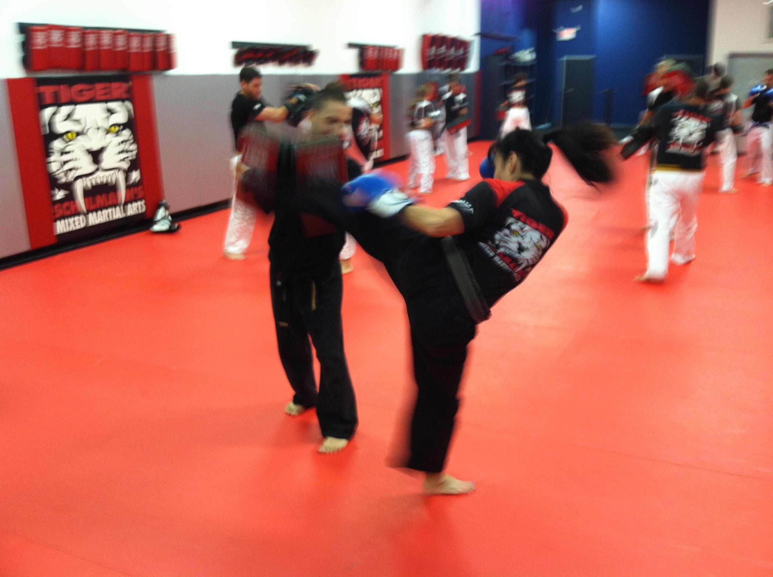 Tiger Schulmann's Martial Arts | Woman Kicking