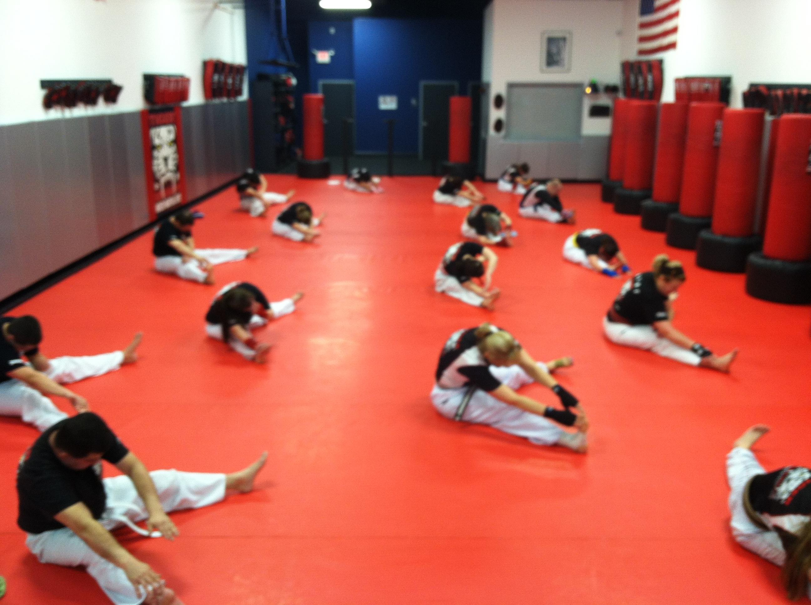Tiger Schulmann's Martial Arts | Team Stretching