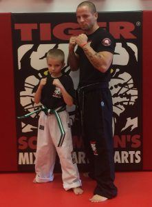 Tiger Schulmann's Martial Arts | TSMA-LJ-Byrnes-Low-Green