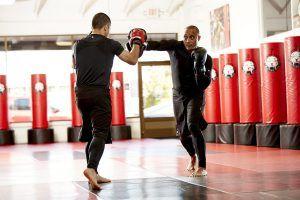 Tiger Schulmann's Martial Arts   Man Punching