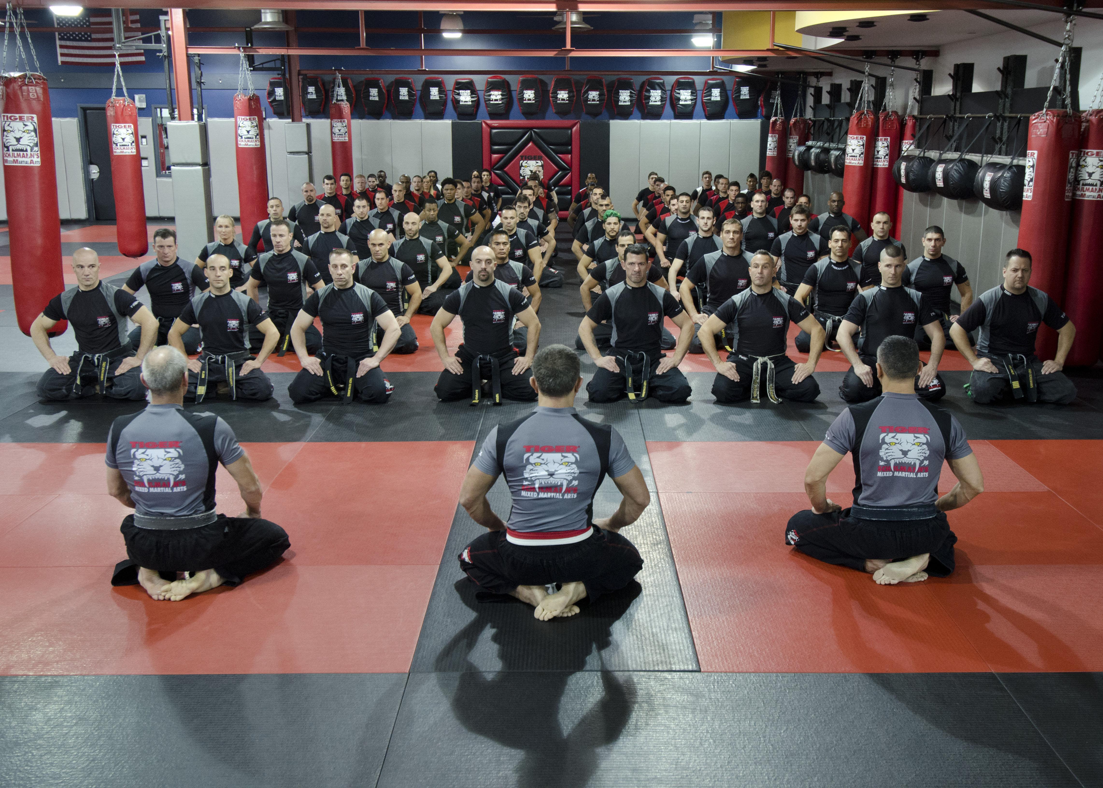 Tiger Schulmann's Martial Arts | Team Sitting Group Shot