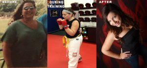 Tiger Schulmann's Martial Arts | Woman Before, During Training and After Photos