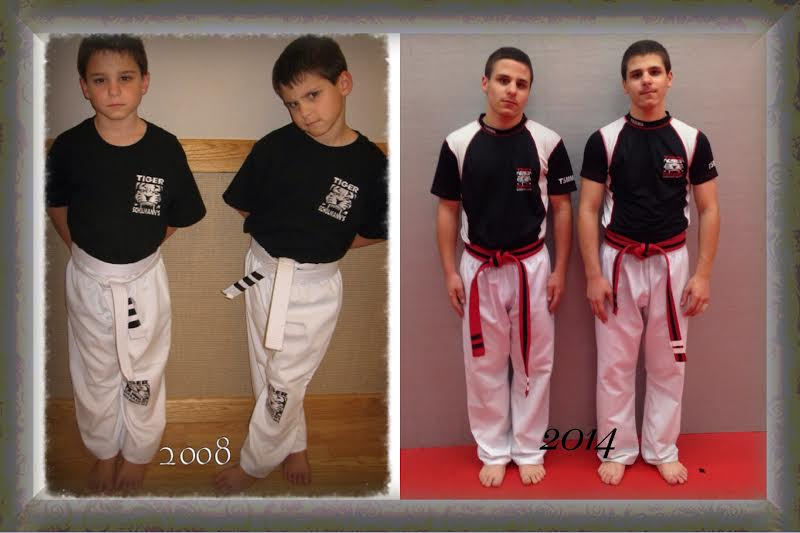 Tiger Schulmann's Martial Arts | Boy Fighters Six Years Later Collage