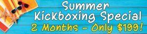 Tiger Schulmann's Martial Arts | Summer Kickboxing Banner