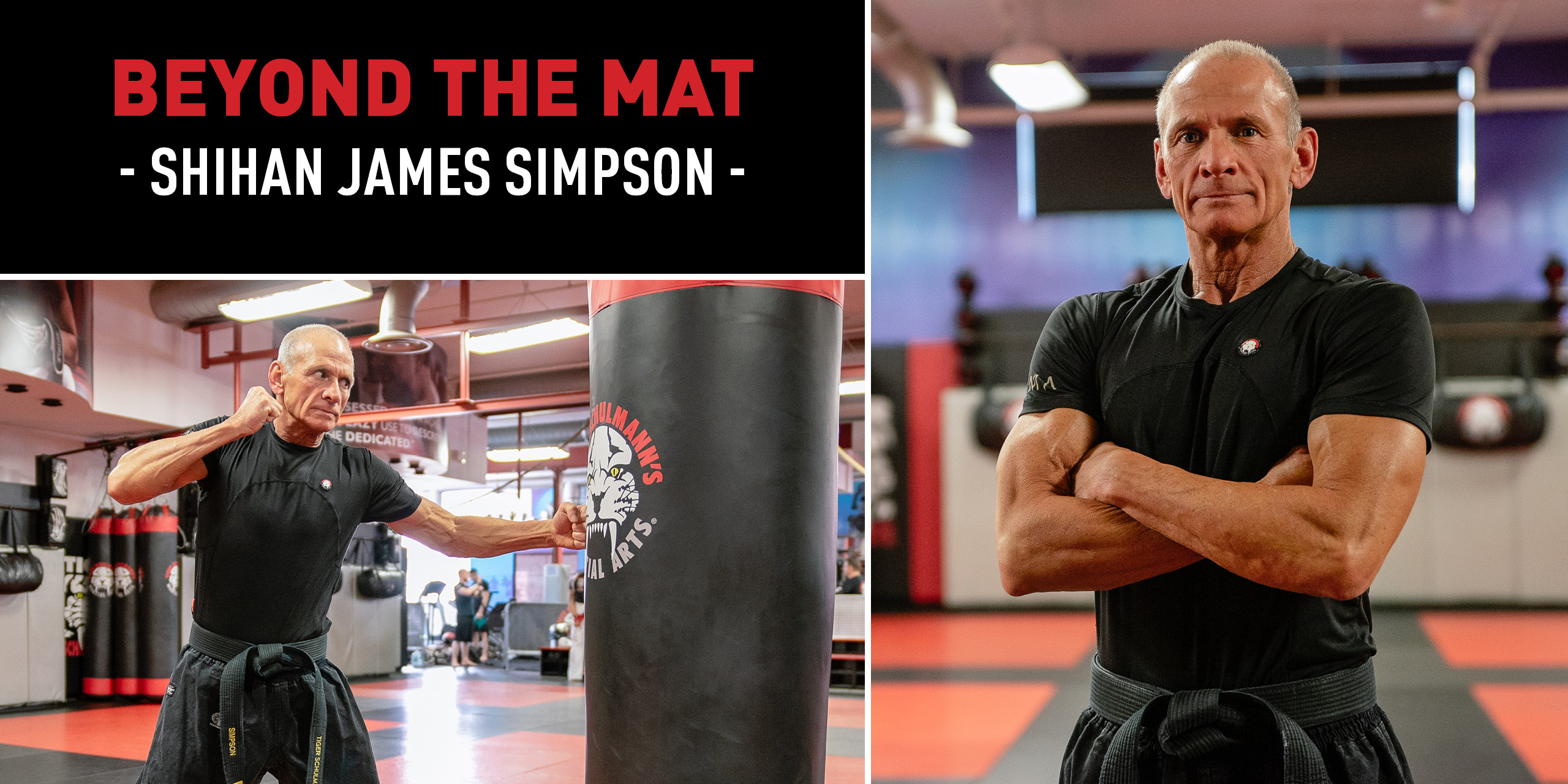Tiger Schulmann's Martial Arts | James Simpson Banner