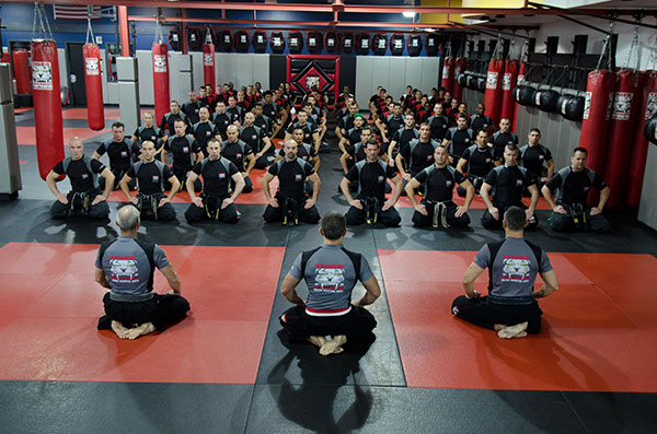 Tiger Schulmann's Martial Arts | Sitting Group Photo