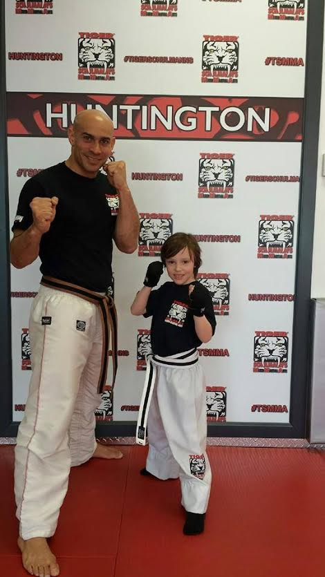 Tiger Schulmann's Martial Arts | Man and Boy Standing