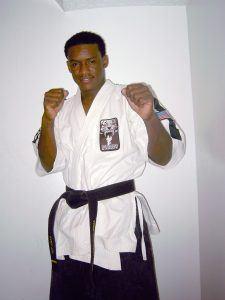Tiger Schulmann's Martial Arts   Man On Fighting Stance
