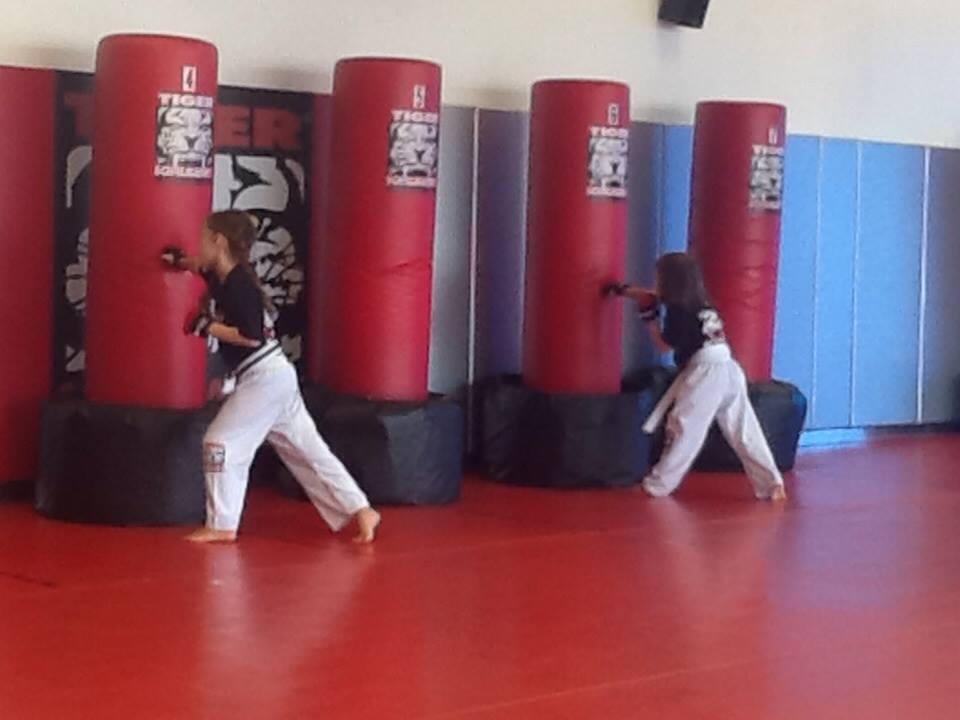 Tiger Schulmann's Martial Arts | Girls Punching