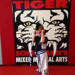 Tiger Schulmann's Martial Arts | Blue Belter Boy Posing