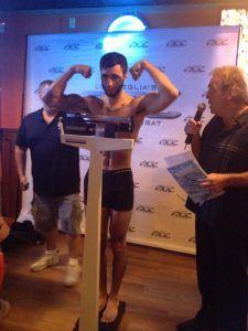 Tiger Schulmann's Martial Arts | Man Weighing In