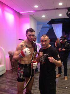Tiger Schulmann's Martial Arts   Man with Championship Belt