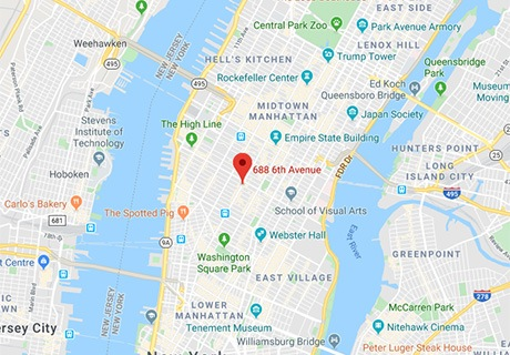 Tiger Schulmann's Martial Arts | Chelsea Map