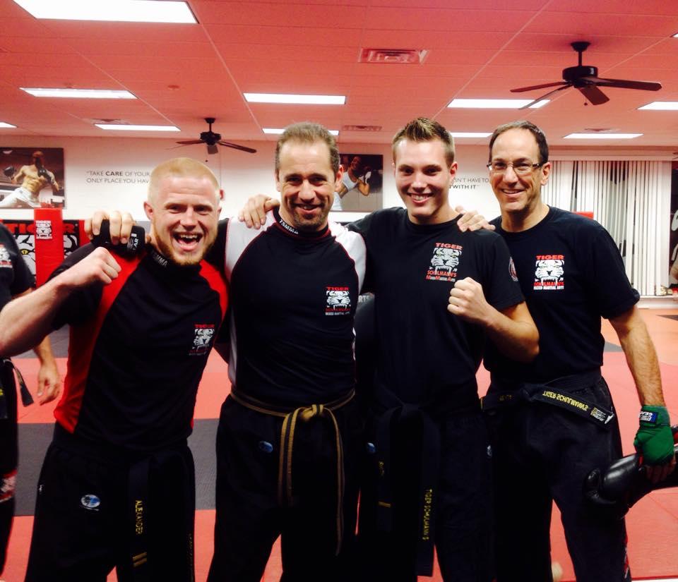 Tiger Schulmann's Martial Arts | Men Group Photo