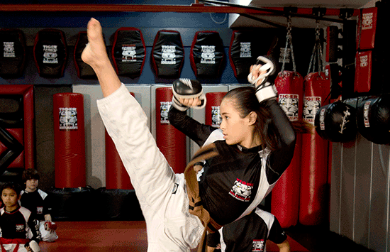 Tiger Schulmann's Martial Arts | Girl Kicking